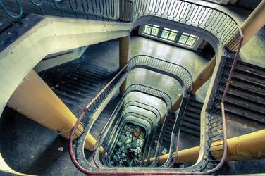 Stairs to Nowhere by AbandonedZone