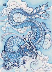 Porcelain Blue by crocodiledreams