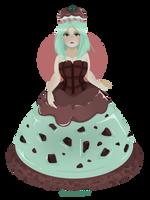 [OPEN] 100P OTA Mint Princess by Arcanabean
