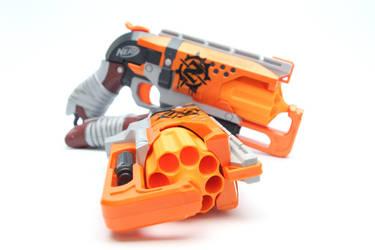 Nerf Hammershots by SuicideNeil