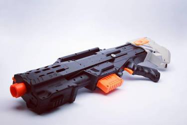 Nerf Longshot with Pump-Grip by SuicideNeil