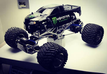 Project Mulligan, Custom Tamiya TXT-1 R/C Truck by SuicideNeil