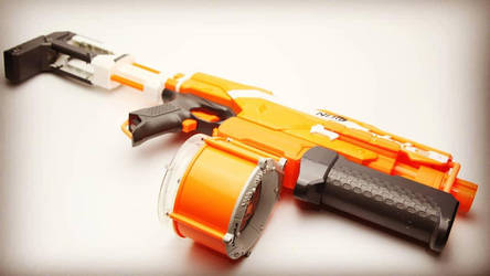 Custom Nerf Demolisher by SuicideNeil