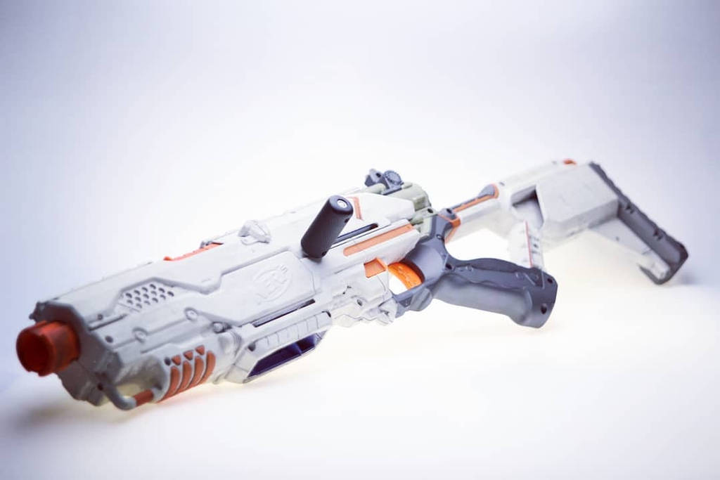 Custom Nerf LongStrike CS-6 by SuicideNeil