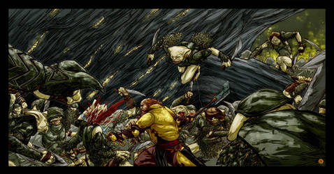 METAL/ONE MAN ARMY with Ricardo by BrandNewNostalgia