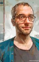 Portrait of Arash by ali-kiani-amin