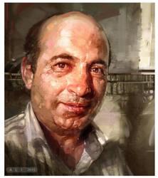 The ordinary man. by ali-kiani-amin