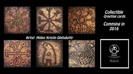 My Collectible Greeting cards by hildur-k-o