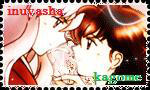 inuyasha and kagome stamp 2 by inuyashacrazy1