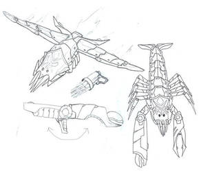 Predacon AquaMagnum's Alts+ by GL-of-Cybertron