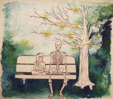 Skeleton you are my friend by FatBabyDave