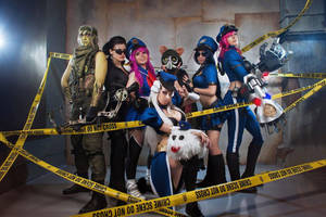 Law and Order by cibo-black-cat