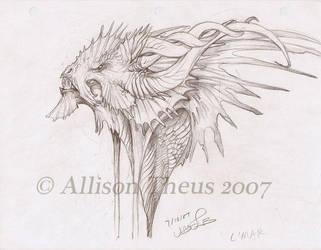 Dragon by beastofoblivion
