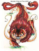 Tiger Fu Sketch by beastofoblivion