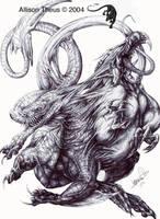 Creature Meld by beastofoblivion