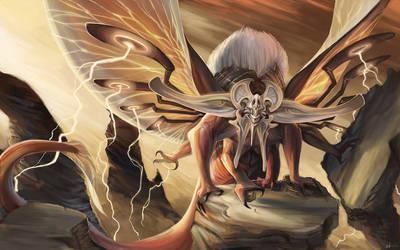 Rift Colossus: Air by beastofoblivion