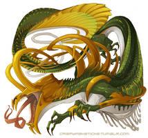 Loki-Dragon by beastofoblivion