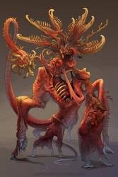Flesh Construct 1 by beastofoblivion