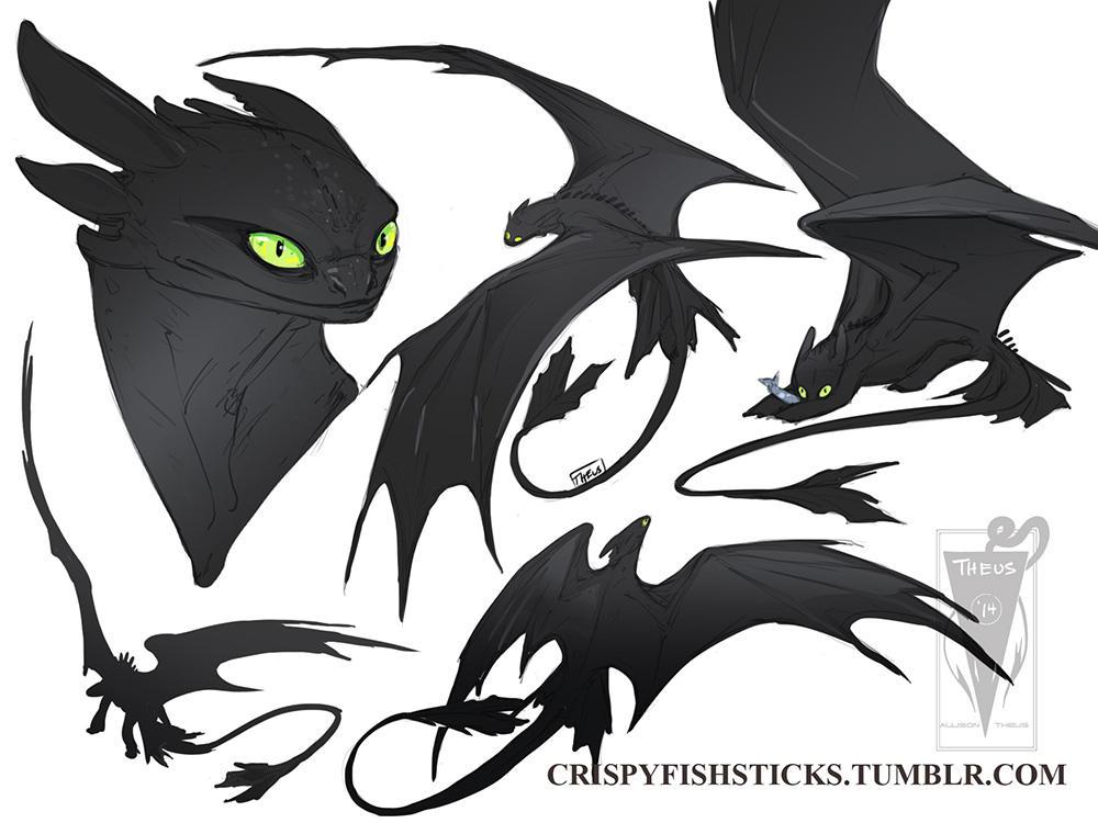 Night Fury By Beastofoblivion On Deviantart