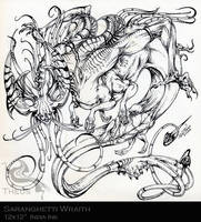 Saranghetti Wraith by beastofoblivion