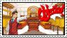 Apollo Justice Stamp by DarkPhoenix19