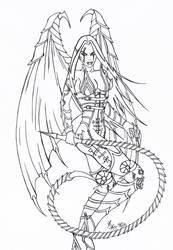 Vampire Lady 2 by Hizoumie