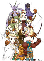 FFTactics Warriors by rockmanzero
