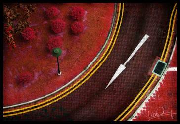 Scarlet Brick Roads... by waiaung