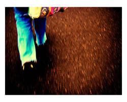 Caminando de Noche by manodemaniqui