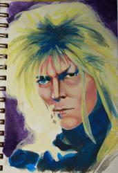 David Bowie II by Berdyflyer