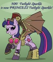 PRINCESS Twilight Sparkle by SpyroConspirator