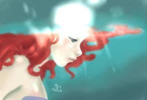 The little mermaid by Cursed-Requiem