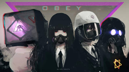 OBEY by AoiOgataArtist