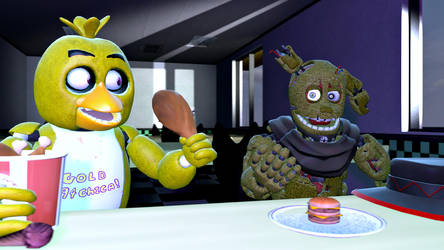 sfm trade maybe: gold94chica by Exodus-Drake