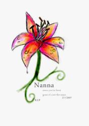 Nanna. by EmilyJaneJeffy