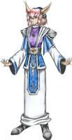 Grace, a Priest by Runefaust