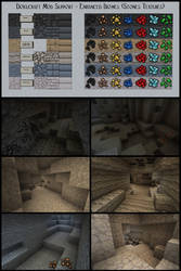 Dokucraft Mod Support - Enhanced Biomes - Stones by Archibald-TK