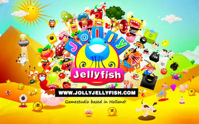 Gamestudio Jolly Jellyfish wallpaper by berthjan