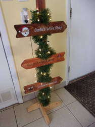 Custom order for Christmas signs by sweetpie2