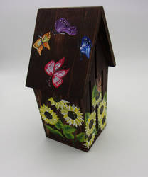 Sunflower Butterfly House by sweetpie2