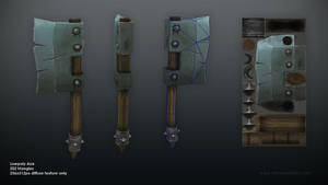 Lowpoly Axe by jotun