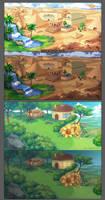Backgrounds 02 by ofSkySociety