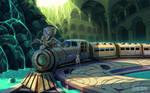World Train by ofSkySociety