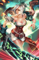 Riven - League of Legends by ofSkySociety