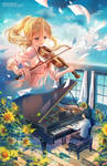 Your Lie in April by ofSkySociety