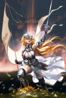 Jeanne D'Arc by ofSkySociety