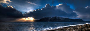 Weather Changes Panorama by dr-phoenix