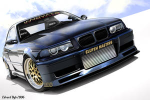 BMW E36 Turbo Widebody by dr-phoenix