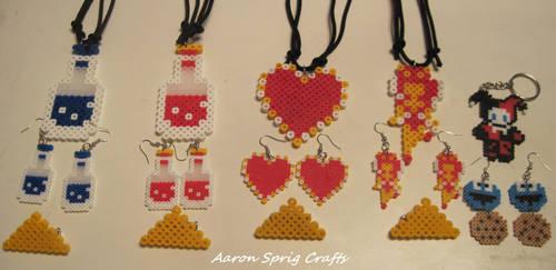 More Perler Beads by aaron-sprig