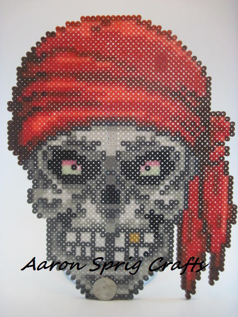 Pirate Skull by aaron-sprig
